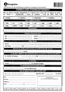 Arnaque Inforegistre