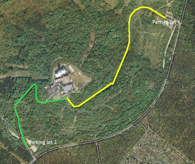 Teufelsberg Access zoom